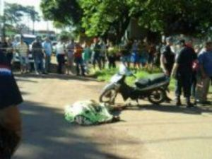 Dono de lava-jato é morto por pistoleiros na fronteira.