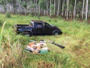 Droga escondida em caminhonete iria para Goiás.