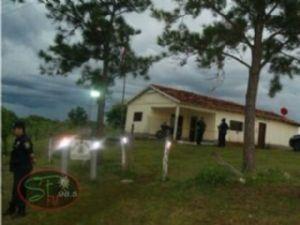 Após o fato, os policiais retornaram a base para pedir apoio e também informar o ocorrido.