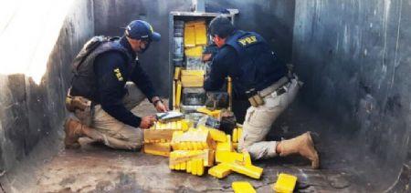 Polícia apreende cocaína em Mato Grosso avaliada em R$ 10 milhões
