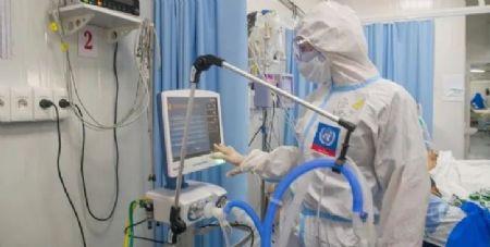 Leitos de terapia intensiva em hospital de Asunción, no Paraguai.