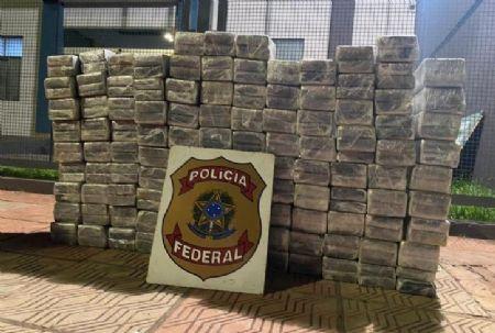Agentes apreenderam cocaína durante abordagem em rodovia de MS.