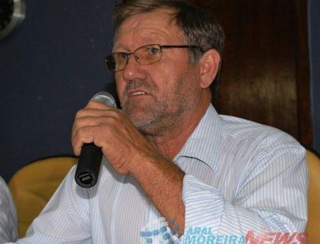 Aral Moreira de luto: Morre aos 67 anos, ex-vice prefeito e ex-vereador Valdir Soligo