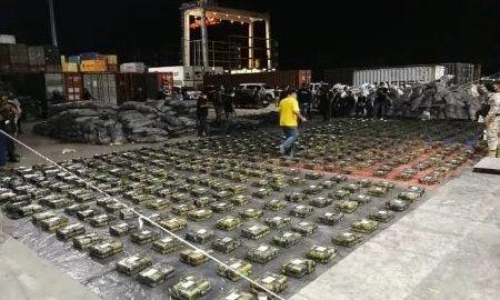 Paraguai faz maior apreensão de cocaína da história do país: 2,3 mil quilos