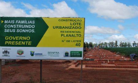 Parceria garante acesso à casa própria para 40 famílias de Aral Moreira