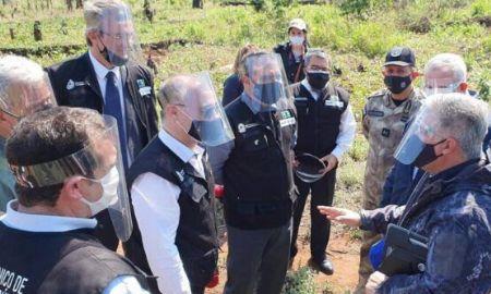 Ministros da Segurança do Paraguai e do Brasil encerram Operação Nova Aliança