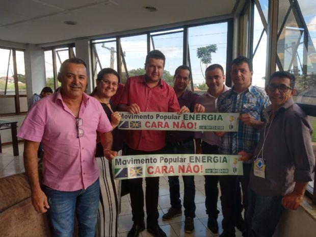 Vereadores de Aral Moreira participam de audiência sobre cobrança da energia em Campo Grande
