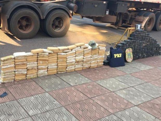 Motorista de carreta receberia R$ 100 mil para entregar cocaína em SP