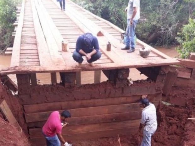 Amambai intensifica ações para amenizar estragos da chuva