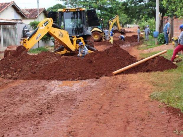 Estado e União investem R$ 11 milhões em esgoto em Amambai