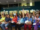 Professores estaduais de Campo Grande aprovaram greve na hora do almoço