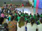 Encerramento do projeto contou com a apresentação do professor e contador de histórias, Ciro Ferreira.