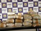 Polícia investiga origem e destino de dinheiro apreendido.