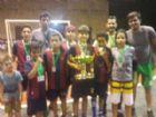 Equipe Barça Aral Moreira sagrou-se campeã na categoria 11 e 12 anos.