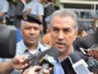 Governador do Estado, Reinaldo Azambuja (PSDB).