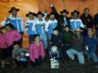 Equipe de Aral Moreira que conquistou