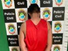 Acusado já detido na delegacia da cidade.