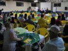 Assembleia reuniu vários associados e familiares.