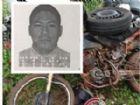 Com o impacto a moto sofreu avarias e o condutor, Vergílio Chamorro (foto no detalhe) morreu no hospital.
