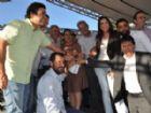 Reinaldo Azambuja entrega nova viatura para a Polícia Militar de Antônio João