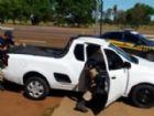 Material e veículo foram apreendidos; motorista foi preso.