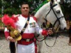 """O amambaiense Émerson Pereira, do """"Dragões da Independência"""". Entre mais de 3 mil cavaleiros ele foi um dos escolhidos para participar da escolta ao presidente Jair Bolsonaro durante a solenidade de posse."""