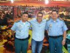 Vereador Carlinhos Marques durante encontro com representantes da PM.