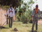 Secretaria de Obras está fazendo manutenção nos bairros de Antônio João.
