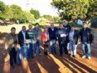 Deputado Geraldo Resende, visita bairros que receberão asfalto junto com o prefeito Dr. Bandeira, vereadores e lideranças.