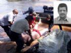 Corpo do ex-candidato a vereador foi encontrado há cerca de 25 quilômetros do local onde se afogou.