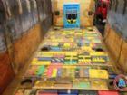 A droga, 890 quilos de maconha divididos em 902 tabletes, era transportada no assoalho da carroceria dos bitrem.