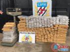 A droga, mas de 400 quilos de maconha, estava sendo transportada em um veículo HB20 roubado.
