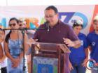 O prefeito de Amambai, Dr. Edinaldo Bandeira. Administração municipal já conseguiu grandes avanços no setor, mas vai continuar buscando mais moradias.