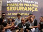 Novo concurso da segurança pública terá 400 vagas para PM e 250 para Bombeiros, anuncia governador.