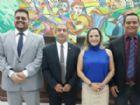 Membros da mesa diretora que conduzirá os trabalhos Legislativos no próximo ano.