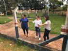 Visita a Escola Municipal ocorreu na semana passada.