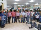 Cooperados de Aral Moreira em ato que marcou a distribuição de sobras nessa segunda.
