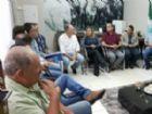 Vereadores receberam a visita do prefeito Hélio Peluffo Filho na tarde de quarta-feira, 08 de novembro.