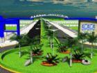 O Parque Industrial ocupa área de 12,5 hectares e fica próximo a área urbana da cidade.