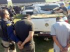Dupla transportava quase duas toneladas de maconha.